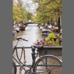 image of bicycle and canal, Amsterdam